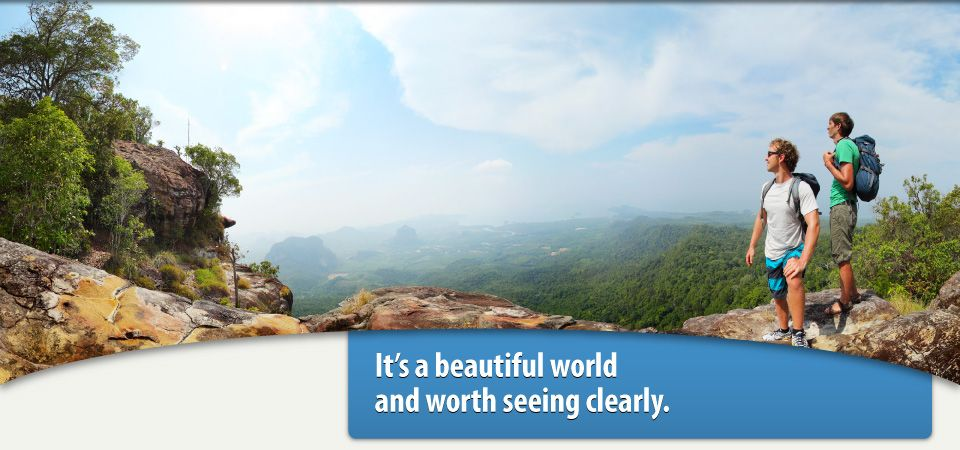 Seeing the world clearly after visiting a Clarington optometrist